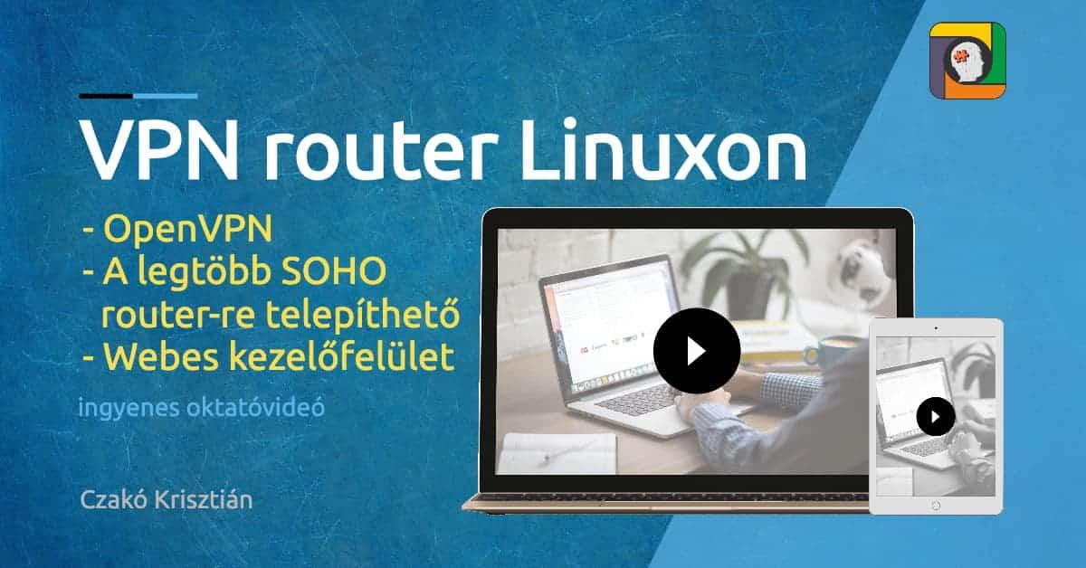 Profi IPv4 és IPv6 VPN router Linux/OpenWrt segítségével