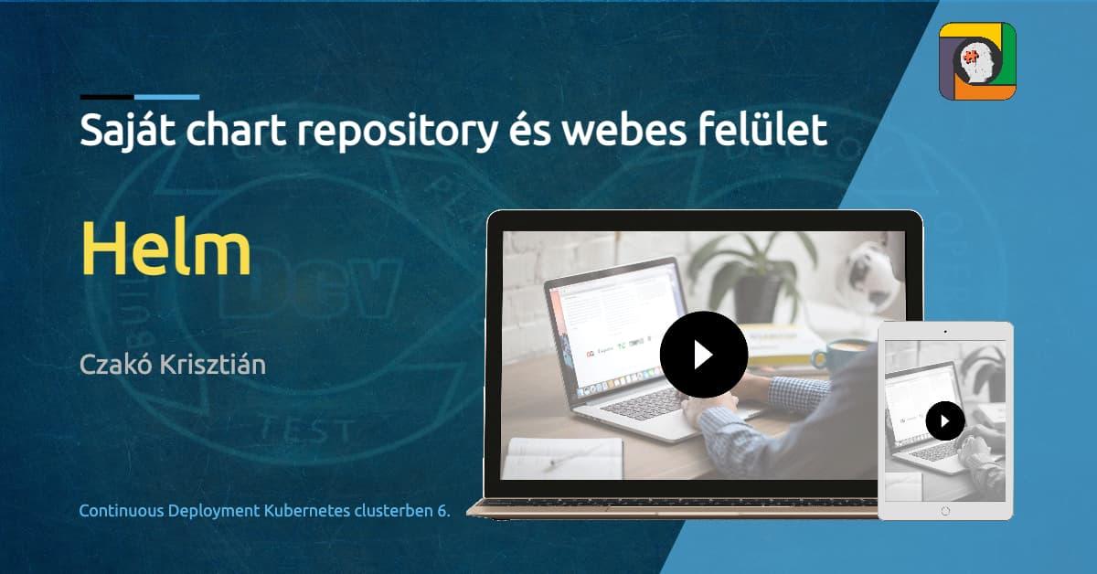 Helm: saját chart repository és webes felület